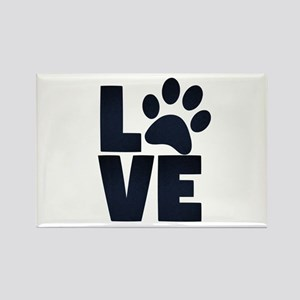 Love Pets Paw Cat Dog Cute Magnets
