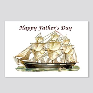 Father's Day Classic Tall Postcards (package O