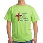 Song/Sermon Treble Clef Green T-Shirt