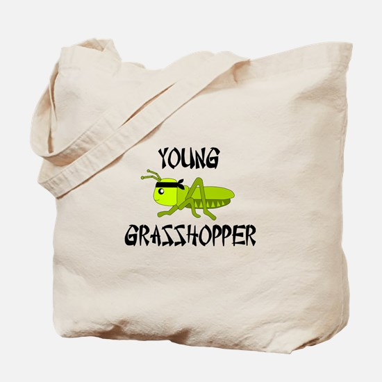 Young Grasshopper Challenge Tote Bag