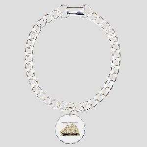Father's Day Classic Charm Bracelet, One Charm