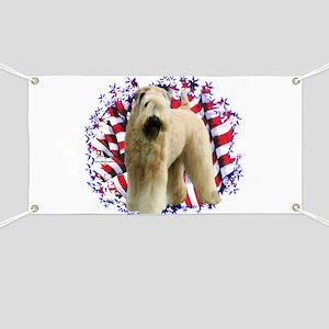 Wheaten Patriot Banner