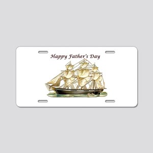 Father's Day Classic Tall Aluminum License Pla