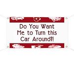Turn Car Around Banner