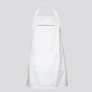 I hate myself and want to die BBQ Apron
