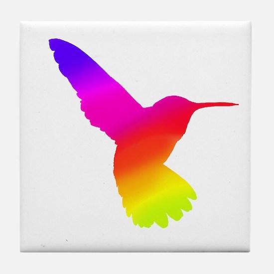 Hummingbird Art Tile Coaster