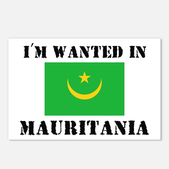 I'm Wanted In Mauritania Postcards (Package of 8)