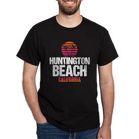 Sunset Huntington Beach T-Shirt