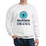 Nurses for Obama Sweatshirt