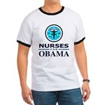 Nurses for Obama Ringer T