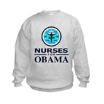 Nurses for Obama Kids Sweatshirt