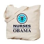 Nurses for Obama Tote Bag