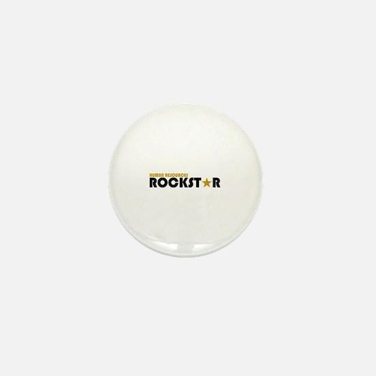 Human Resources Rockstar Mini Button