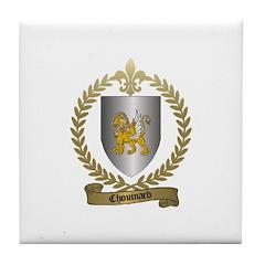 CHOUINARD Family Crest Tile Coaster