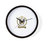 CHOUINARD Family Crest Wall Clock