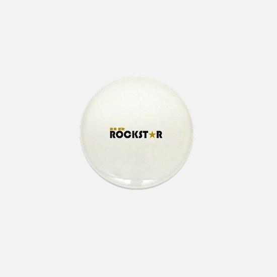 HR Rockstar Mini Button