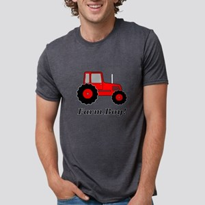 Farm Boy Red Tractor T-Shirt