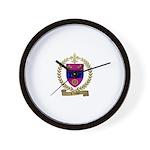 CLICHE Family Crest Wall Clock