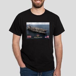 USS Truman CVN-75 Dark T-Shirt