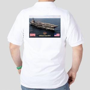USS Truman CVN-75 Golf Shirt