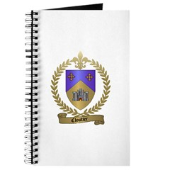 CLOUTIER Family Crest Journal