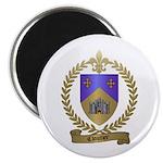 CLOUTIER Family Crest Magnet