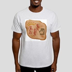 Caveman Coffee Ash Grey T-Shirt