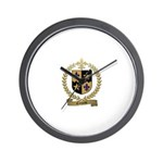 COMEAU Family Crest Wall Clock