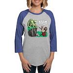 Dragon Slayer Womens Baseball Long Sleeve T-Shirt