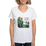 Dragon Slayer Women's V-Neck T-Shirt