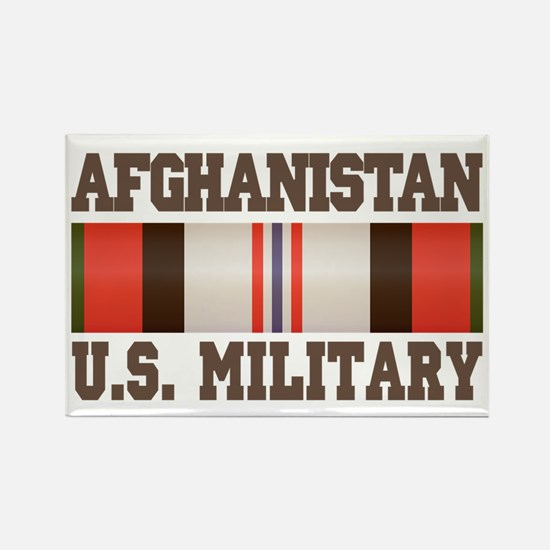 Afghanistan US Military Rectangle Magnet