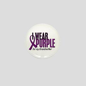 I Wear Purple For My Grandmother 10 Mini Button