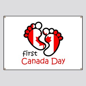 First Canada Day Banner
