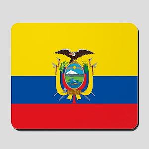 Flag of Ecuador Mousepad