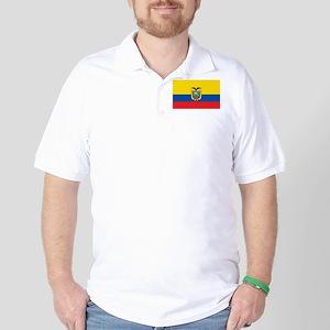 Flag of Ecuador Golf Shirt