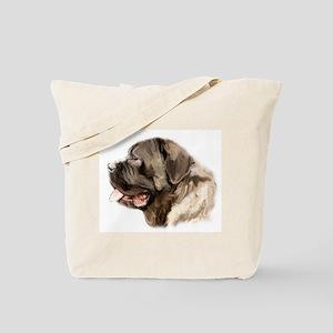 English Mastiff portrait Tote Bag