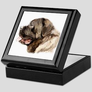 English Mastiff portrait Keepsake Box