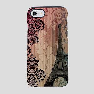 vintage damask modern paris iPhone 8/7 Tough Case