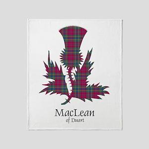 Thistle-MacLeanDuart Throw Blanket