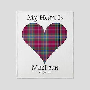 Heart-MacLeanDuart Throw Blanket