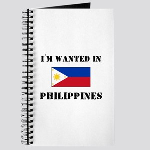 I'm Wanted In Philippines Journal