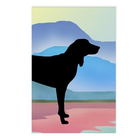 Coonhound Mountains Postcards (Package of 8)