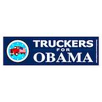 Truckers for Obama Bumper Sticker