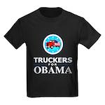 Truckers for Obama Kids Dark T-Shirt