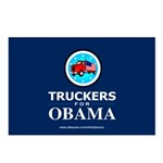 Truckers for Obama Postcards (Package of 8)