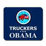 Truckers for Obama Mousepad
