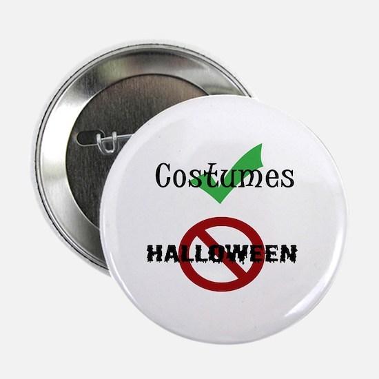 """Hate Halloween 2.25"""" Button"""