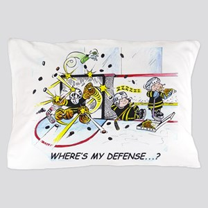 Where's My Defense? Pillow Case