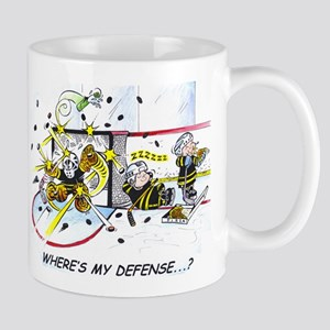 Where's My Defense? Mugs