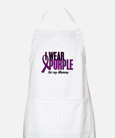 I Wear Purple For My Mommy 10 BBQ Apron